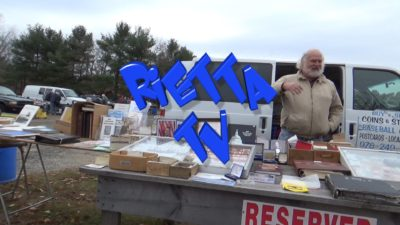 Jay Greene- longtime vendor at Rietta Flea Market - HD Video 52 minutes 1920x1080 720x480 version
